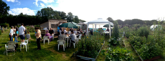 Leominster Allotment Barbeque